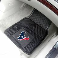 Houston Texans Vinyl 2-Piece Car Floor Mats