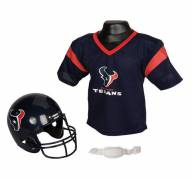 Houston Texans Youth Football Helmet and Jersey Set by Franklin