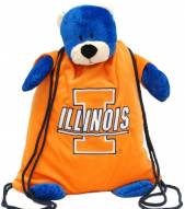 Illinois Fighting Illini Backpack Pal