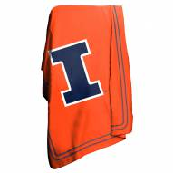 Illinois Fighting Illini NCAA Classic Fleece Blanket