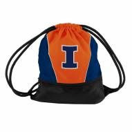Illinois Fighting Illini Drawstring Bag