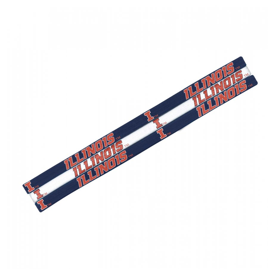 Illinois Fighting Illini Elastic Headband