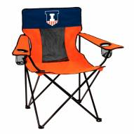 Illinois Fighting Illini Elite Tailgating Chair