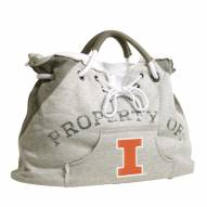 Illinois Fighting Illini Hoodie Tote Bag