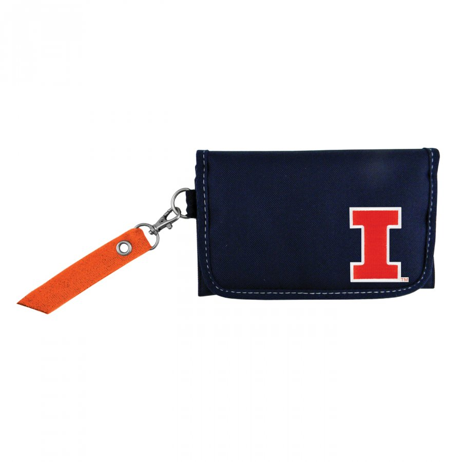 Illinois Fighting Illini Ribbon Organizer Wallet