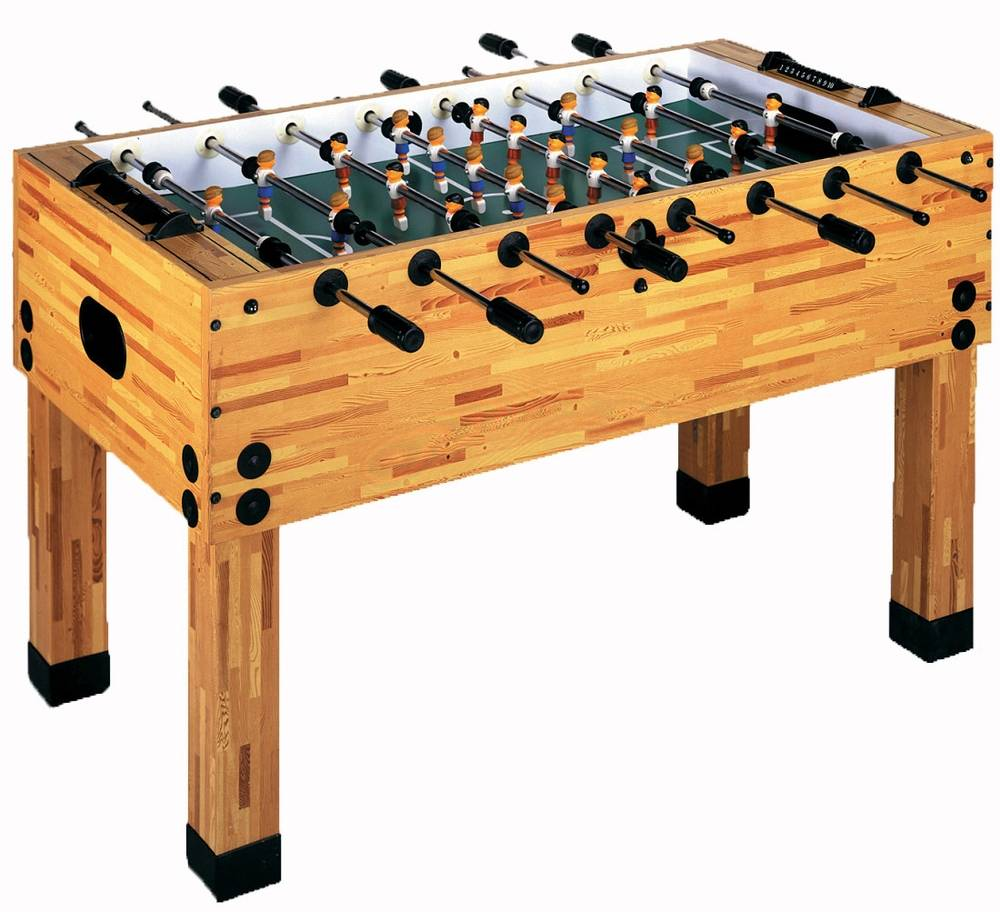 Imperial Light Butcher Block Foosball Table