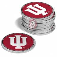 Indiana Hoosiers 12-Pack Golf Ball Markers