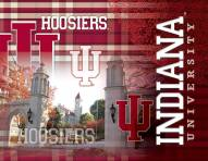 "Indiana Hoosiers 15"" x 20"" Printed Canvas"