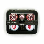 Indiana Hoosiers 2 Ball/2 Chip Golf Gift Set