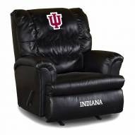 Indiana Hoosiers Big Daddy Leather Recliner