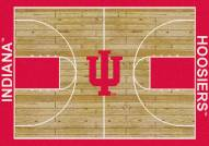 Indiana Hoosiers College Home Court Area Rug