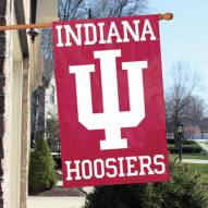 Indiana Hoosiers NCAA Embroidered / Applique College Flag Banner
