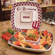 Indiana Hoosiers Gameday Chip N Dip Dish