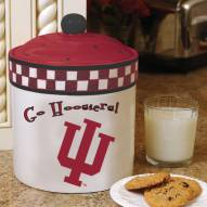 Indiana Hoosiers Gameday Cookie Jar