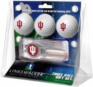 Indiana Hoosiers Golf Ball Gift Pack with Kool Tool
