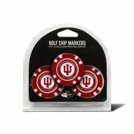 Indiana Hoosiers Golf Chip Ball Markers
