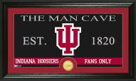Indiana Hoosiers Man Cave Bronze Coin Panoramic Photo Mint