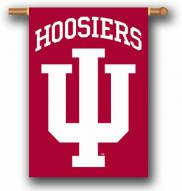 "Indiana Hoosiers Premium 28"" x 40"" Two-Sided Banner"