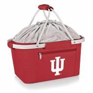 Indiana Hoosiers Red Metro Picnic Basket
