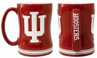 Indiana Hoosiers Sculpted Relief Coffee Mug