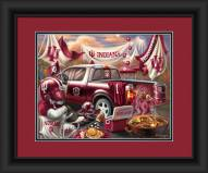 Indiana Hoosiers Tailgate Framed Print