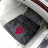 Indiana Hoosiers Vinyl 2-Piece Car Floor Mats