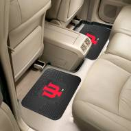 Indiana Hoosiers Vinyl 2-Piece Rear Floor Mats