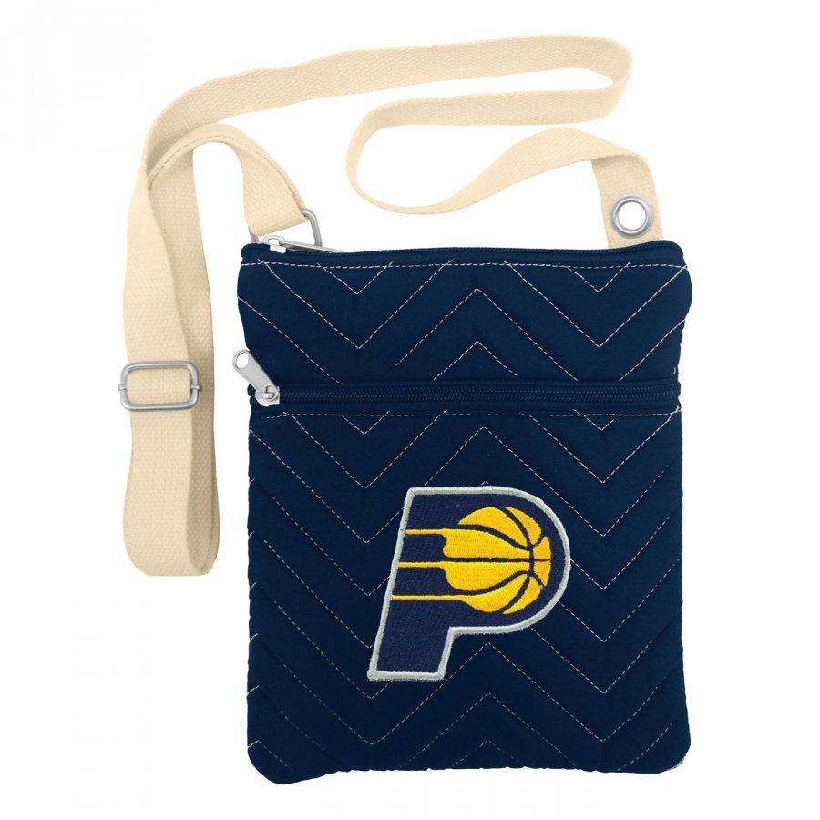 Indiana Pacers Chevron Stitch Crossbody Bag
