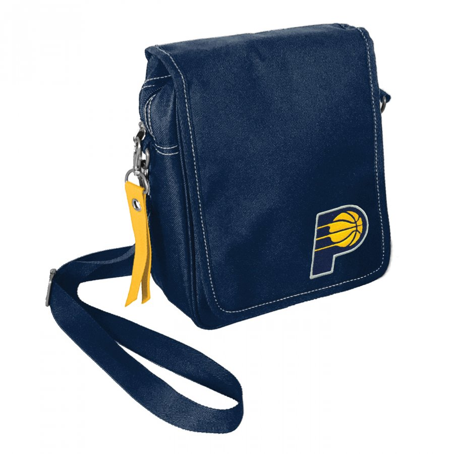 Indiana Pacers Ribbon Satchel