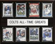 "Indianapolis Colts 12"" x 15"" All-Time Greats Plaque"