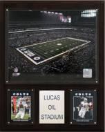 """Indianapolis Colts 12"""" x 15"""" Stadium Plaque"""