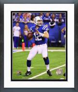 Indianapolis Colts Andrew Luck 2014 Action Framed Photo
