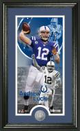 Indianapolis Colts Andrew Luck Minted Coin Panoramic Photo Mint