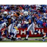 "Indianapolis Colts Andrew Luck ""Release"" Signed 16"" x 20"" Photo"