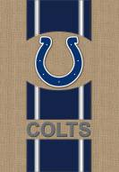 Indianapolis Colts Burlap Flag