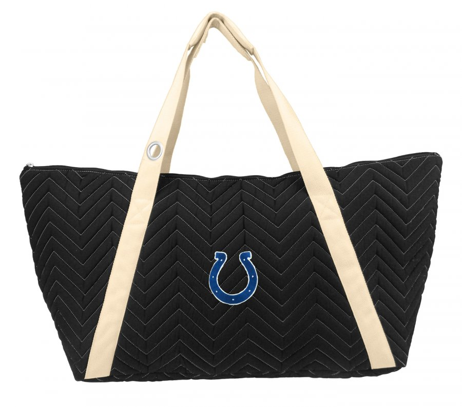 Indianapolis Colts Chevron Stitch Weekender Bag