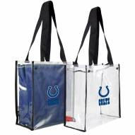 Indianapolis Colts Convertible Clear Tote