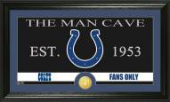 Indianapolis Colts Man Cave Bronze Coin Panoramic Photo Mint