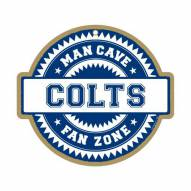 Indianapolis Colts Man Cave Fan Zone Wood Sign