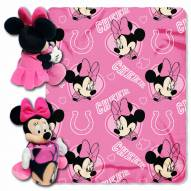 Indianapolis Colts Minnie Mouse Throw Blanket