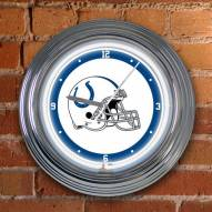 Indianapolis Colts NFL Neon Wall Clock