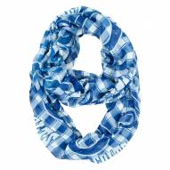 Indianapolis Colts Plaid Sheer Infinity Scarf