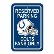 Indianapolis Colts Parking Sign - Set of 2