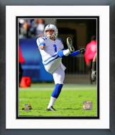 Indianapolis Colts Pat McAfee 2012 Action Framed Photo