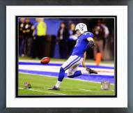 Indianapolis Colts Pat McAfee 2014 Action Framed Photo