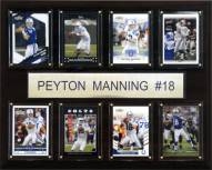 "Indianapolis Colts Peyton Manning 12"" x 15"" Card Plaque"