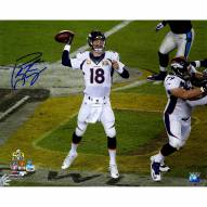 "Indianapolis Colts Peyton Manning Super Bowl 50 Action Signed 16"" x 20"" Photo"