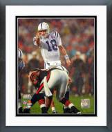 Indianapolis Colts Peyton Manning Super Bowl XLI Action Framed Photo