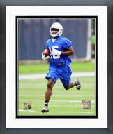 Indianapolis Colts Phillip Dorsett 2015 Mini Camp Action Framed Photo