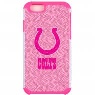 Indianapolis Colts Pink Pebble Grain iPhone 6/6s Case